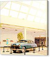 Hudson Car Under Skylight Canvas Print