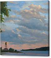 Hudson River Skyscape  Canvas Print