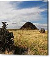 Huerfano Butte Canvas Print