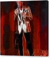 Huey Lewis-fractal Canvas Print