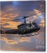 Huey - Vietnam Workhorse Canvas Print