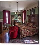Huguette Clark's Bedroom -- Butte Montana Canvas Print