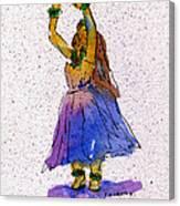 Hula Series Melika Canvas Print