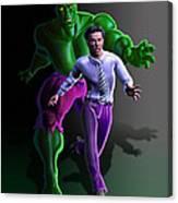 Hulk - Bruce Alter Ego Canvas Print