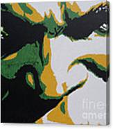Hulk - Incredibly Close Canvas Print
