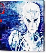 Humanoid Canvas Print