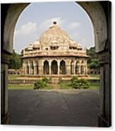 Humayuns Tomb, India Canvas Print