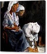 Humble Hands Canvas Print