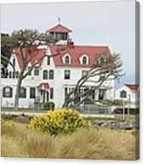 Humboldt Bay Coast Guard Station Canvas Print