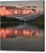 Hume Lake Sunset Canvas Print
