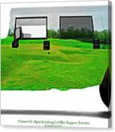Hummer H1 Alpha Vicksburg Sappers Trench Canvas Print