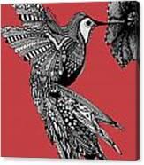Hummingbird Flight 15 Canvas Print