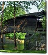 Humpback Covered Bridge 2 Canvas Print