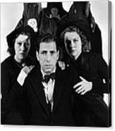 Humphrey Bogart In The Black Legion 1937 Canvas Print