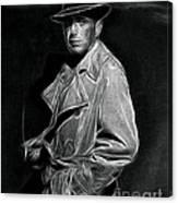 Humphrey Bogart - Pencil Canvas Print