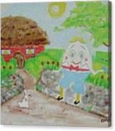 Humpty's House Canvas Print