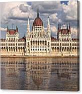 Hungarian Parliament Budapest Canvas Print