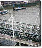 Hungerford Bridge Canvas Print