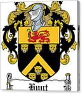 Hunt Coat Of Arms Cork Ireland Canvas Print