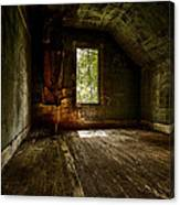Hunted House In The Daylight Canvas Print