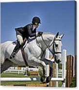 Hunter-jumper I Canvas Print