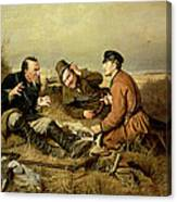 Hunters, 1816 Canvas Print