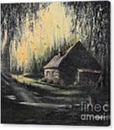 Hunting Cabin Canvas Print