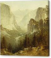 Hunting In Yosemite Canvas Print