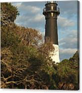 Hunting Island Lighthouse 1 Canvas Print