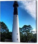 Hunting Island Lighthouse Canvas Print