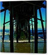 Huntington Beach Pier Canvas Print