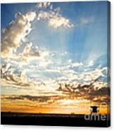 Hallelujah  Sunset Canvas Print