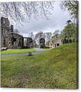 Huntly Castle - 4 Canvas Print