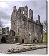 Huntly Castle - 5 Canvas Print