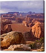Hunts Mesa Arizona Canvas Print