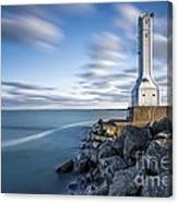 Huron Harbor Lighthouse Canvas Print