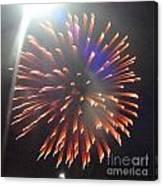 Huron Ohio Fireworks 5 Canvas Print