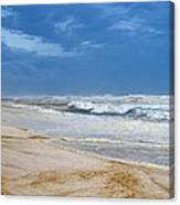 Hurricane Isaac Impacts Navarre Beach Canvas Print