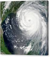 Hurricane Katrina Canvas Print