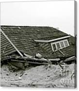Hurricane - Sandy - Storm Canvas Print