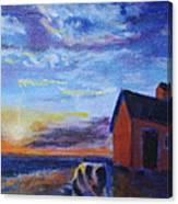 Hurry Sundown Canvas Print
