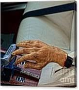 Hurst Shifter And Hand Brake Canvas Print