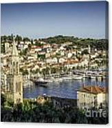 Hvar Overlook Canvas Print