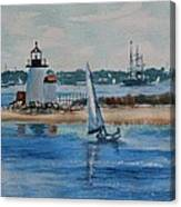 Hyannis Harbor Canvas Print