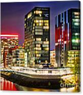 Hyatt Regency Dusseldorf Canvas Print