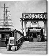 Hyde St. Pier Canvas Print