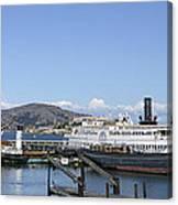 Hyde Street Pier - San Francisco Canvas Print