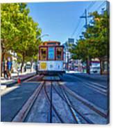 Hyde Street Trolley Canvas Print