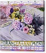 Hydrangea Anemones Canvas Print