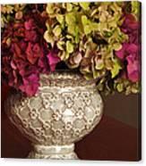 Hydrangea Bouquet   Canvas Print